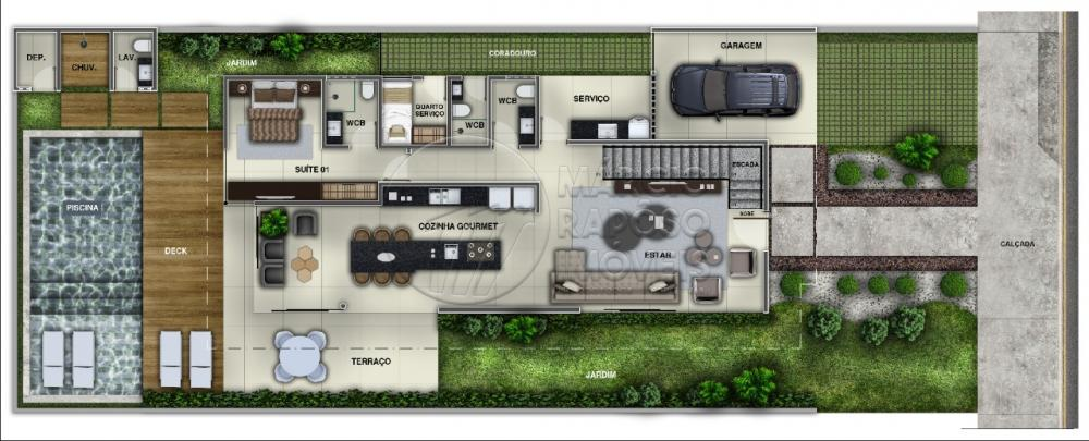 COND. GRAN CAYMAN ARQUIPÉLAGO DO SOL  CASA EM PROJETO ENTREGA EM 10 MESES NÃO FINANCIA PARCELAMENTO DIRETO COM O CONSTRUTOR  Casa de 310 m² para Venda.  Possui: - Sala para dois ambientes, estar e jantar; - 04 quartos, sendo 04 suíte; - Wc de serviço; - Cozinha com área de serviço.  Obs. PROJETO ORIGNAL, EM CASO DE ALTERAÇÃO DO PROJETO, PODERÁ OCORRER CUSTOS EXTRAS