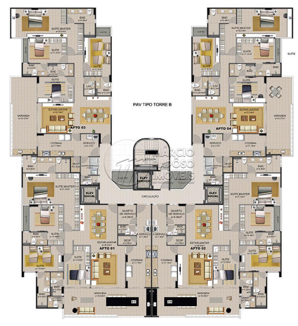 EDF. MANSÕES DO ALTO   Apartamento para venda Possui: - Varanda Gourmet - 4 suítes - Lavabo na varanda - Sala de estar e jantar - 4 vagas de garagem - Nascente - Ambiente super ventilado, com ótima vista - Prédio com piscina - Academia - Quadra de squash - Espaço mulher - Espaço gourmet - Salão de jogos - Quadra poliesportiva - Piscina adulto/infantil - Salão de festa  - Playground    *Entre em contato conosco via celular ou Whatsapp, e agende uma visita com um de nossos corretores de plantão.