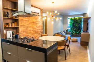 EDF. MOSCATO  * apartamento de 61,00m² para venda.  Possui: - Sala de estar/jantar, varanda: - 2 suites: - cozinha/serviço.